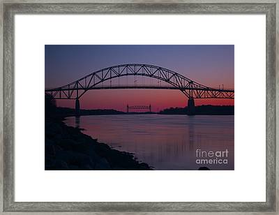 Gateway To Cape Cod Framed Print by Amazing Jules