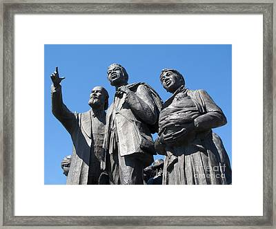Gateway To Freedom - 2 Framed Print by Ann Horn