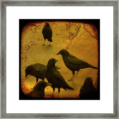 Gathering Framed Print by Gothicolors Donna Snyder