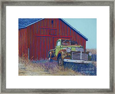 Gathering Memories Framed Print by Tracy L Teeter