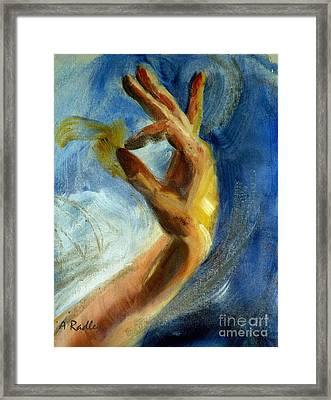 Gayan Framed Print by Ann Radley