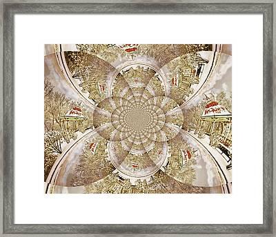 Gazebo Framed Print by Marty Koch
