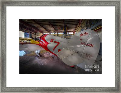 Gee Bee Super Sportster Framed Print by Marvin Spates