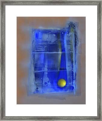Gefangen / Captured Framed Print by Annelie Dachsel-Widmann