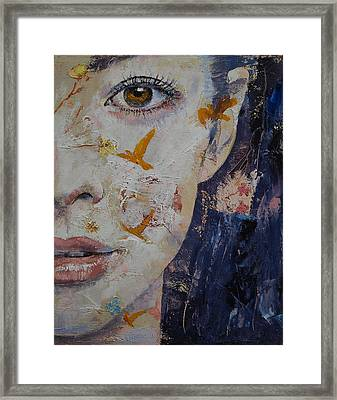 Geisha Framed Print by Michael Creese