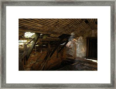 Geist Framed Print by Mark Zelmer