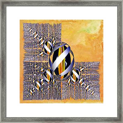 Gem Of Gold Framed Print by Deborah Benoit