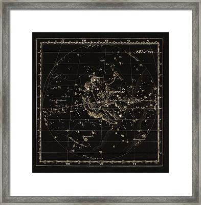 Gemini Constellation, 1829 Framed Print by Science Photo Library