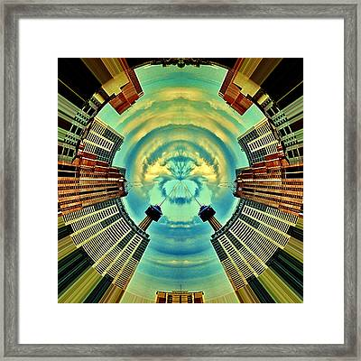 Gemini Framed Print by Wendy J St Christopher