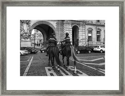 Gendarmerie  Framed Print by Mountain Dreams