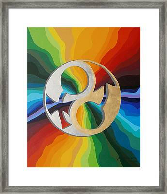 Gender Continuum  Framed Print by Adrien Barlow