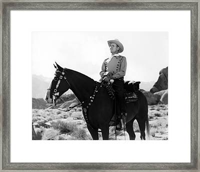 Gene Autry Framed Print by Silver Screen