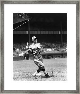 Gene Robertson Framed Print by Retro Images Archive