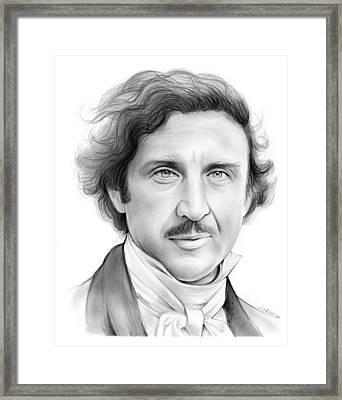 Gene Wilder Framed Print by Greg Joens