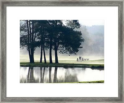 Genegantslet Golf Club Framed Print by Christina Rollo