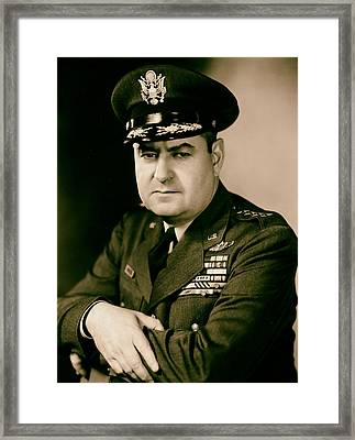 General Curtis Lemay 1950s Framed Print by Mountain Dreams