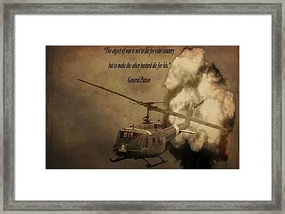 General Patton Framed Print by Dan Sproul