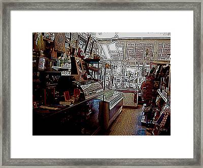General Store Framed Print by BackHome Images
