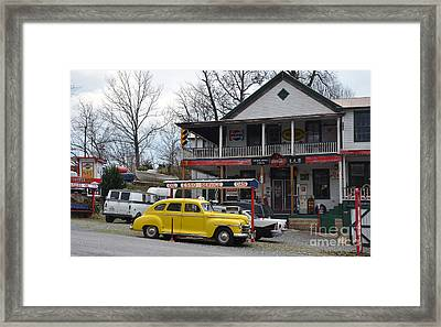 General Store Framed Print by Brenda Dorman