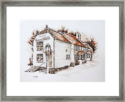 General Wolfe Pub Framed Print by Andrew Read