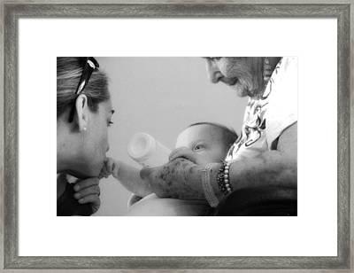 Generations Framed Print by Carolina Liechtenstein