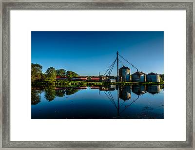 Genesee Mill Framed Print by Randy Scherkenbach