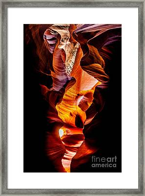 Genie In A Bottle Framed Print by Az Jackson