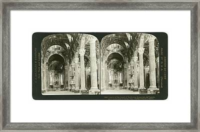 Genoa Basilica, 1908 Framed Print by Granger