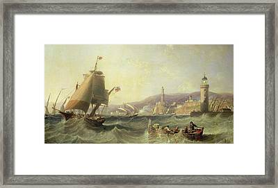 Genoa Framed Print by John Wilson Carmichael