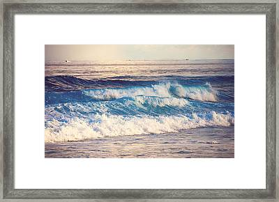 Gentle Light  Framed Print by Jenny Rainbow