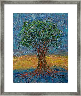Gentle Strength Framed Print by William Killen
