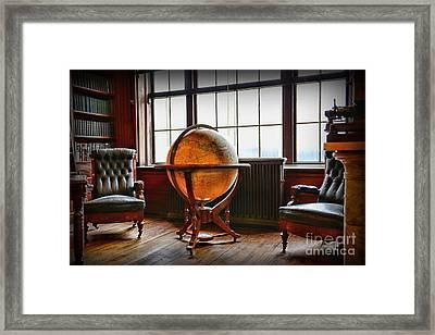 Gentleman's Room Framed Print by Paul Ward