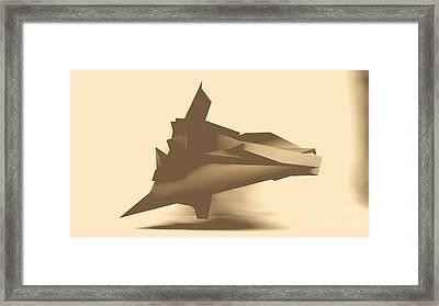 Geo Mirage Framed Print by Sergiy Skorin