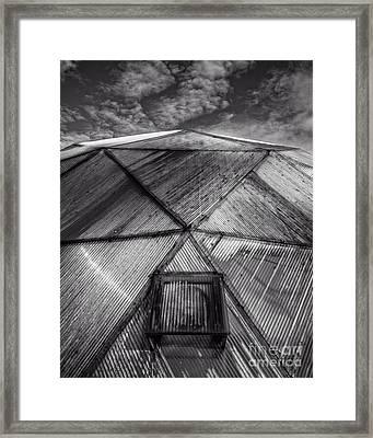 Geodesic Dome Framed Print by Edward Fielding