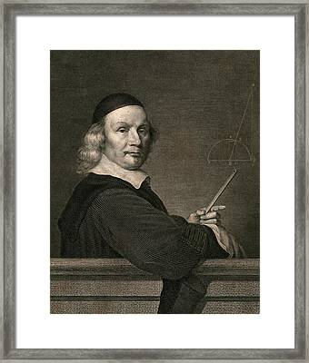 Geometer Framed Print by Chemical Heritage Foundation