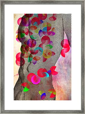 Geometric Body  Framed Print by Mark Ashkenazi