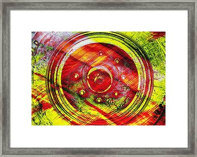 Geometric Colors  Framed Print by Prakash Ghai