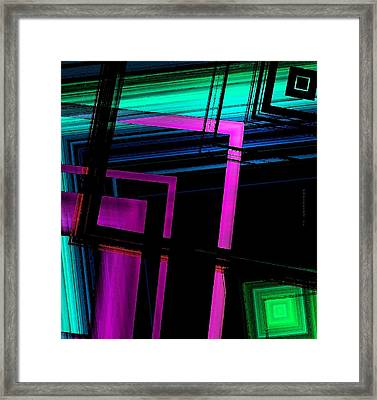Geometric Style Framed Print by Mario Perez