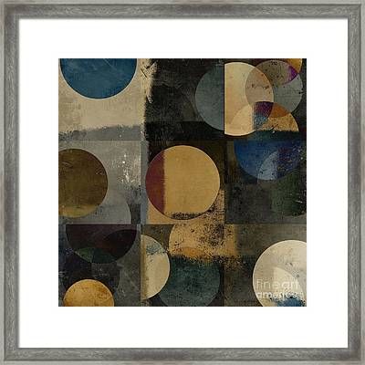 Geomix 01 - 111bt2a Framed Print by Variance Collections