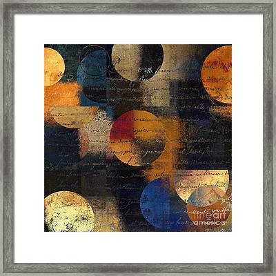 Geomix 01 - 128124149-03b Framed Print by Variance Collections