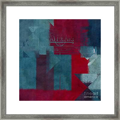 Geomix 03 - S330d05t2b2 Framed Print by Variance Collections