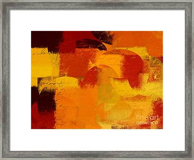 Geomix 05 - 01at01b Framed Print by Variance Collections