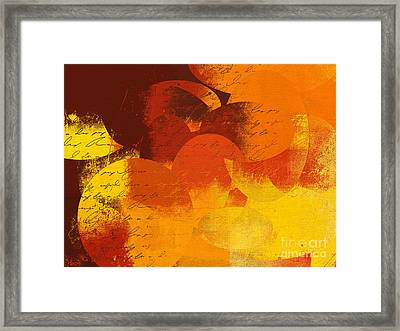 Geomix 05 - 01at02 Framed Print by Variance Collections