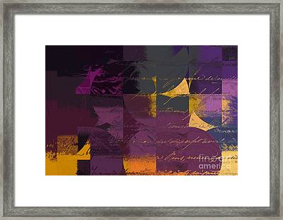 Geomix 07 - 064097167 Framed Print by Variance Collections