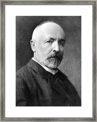 Georg Cantor, German Mathematician Framed Print by Science Photo Library