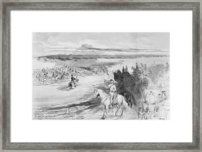 George Brinton Mcclellan (1826-1865) Framed Print by Granger