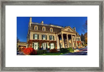 George Eastman House Hdr Framed Print by Tim Buisman