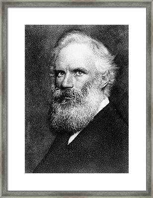 George Fitzgerald Framed Print by Hollinger And Rockey, New York, Swan Electric Engraving Co., Courtesy Aip Emilio Segre Visual Archives, Brittle Books Collection, Physics Today Collection