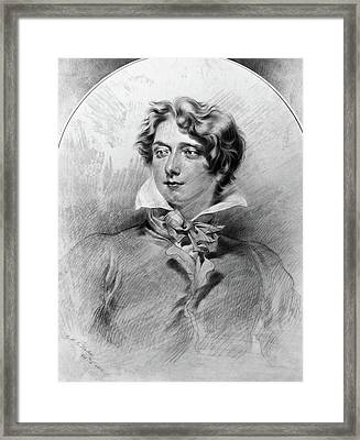 George Henry Harlow (1787-1819) Framed Print by Granger