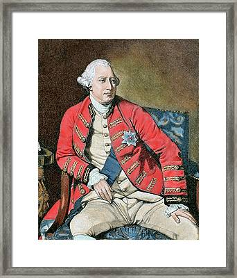 George IIi (london, 1738-windsor, 1820 Framed Print by Prisma Archivo